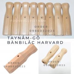 Tay nắm bàn bi lắc harvard chất liệu gỗ cao cấp