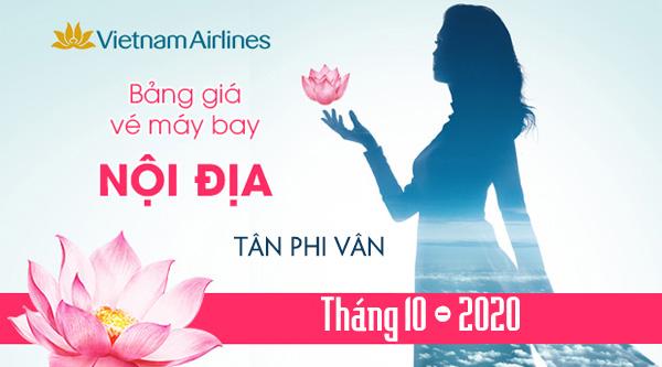bang gia vietnam airlines thang 10